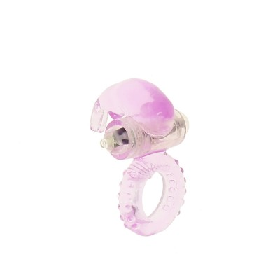 Conejillo Vibrating Ring - Purple