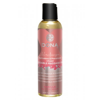 Kissable Massage Oil Vanilla 110 ml