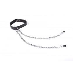 Collar - Nipple Play - Black