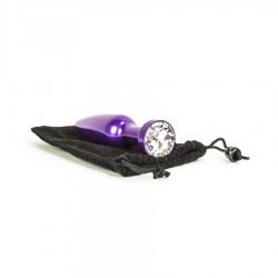 Aluminum Alloy Anal Plug 2 - Purple