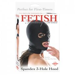 Ff Spandex 3 Hole Hood Black
