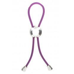 Adjustable Love Ring - Purple