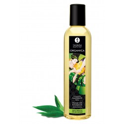 Shunga Massage Oil Green Tea Organi