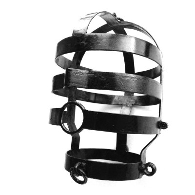 Head Cage - Black Coated