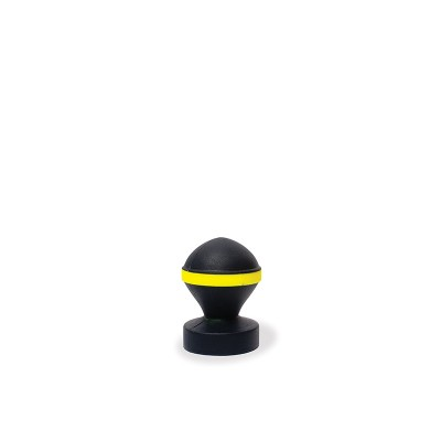 Fluo Valve Plug - Black & Yellow