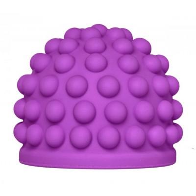 Purple Massage Bumps Silicone Attachment - Opzetstuk