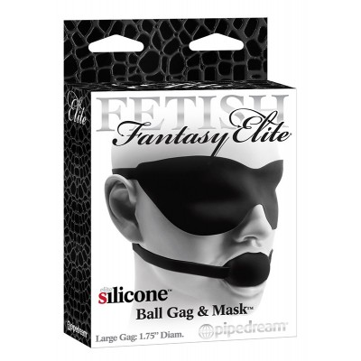 Ballgag & Mask Black