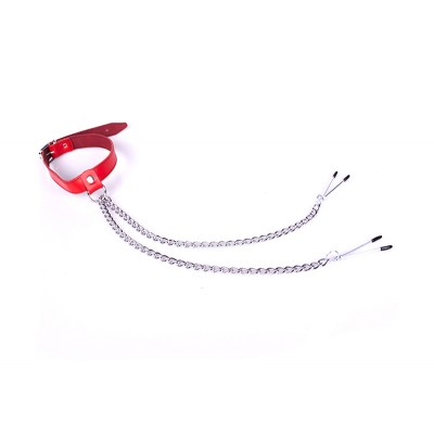 Collar Nipplepincher Red