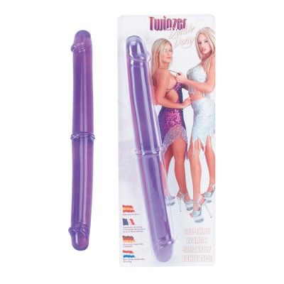 "Twinzer 12"" Double Dong Purple"