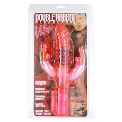 Double Rabbit Pleasures Vibe Pk