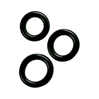 Colt 3 Ring Set Black