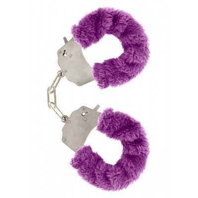 Furry Fun Cuffs Purple Plush