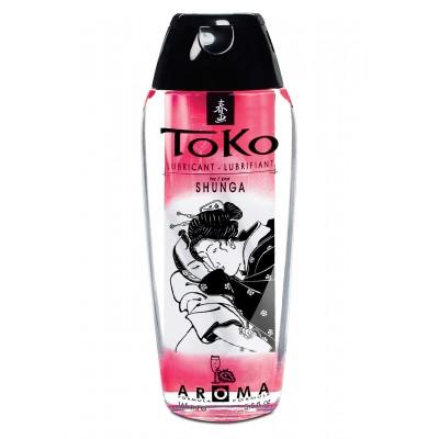 Shunga Toko Lubricant Strawb 165ml
