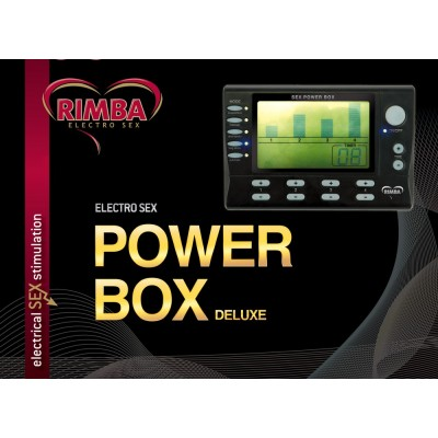 4 KANAALS Electro Power box set, LCD display