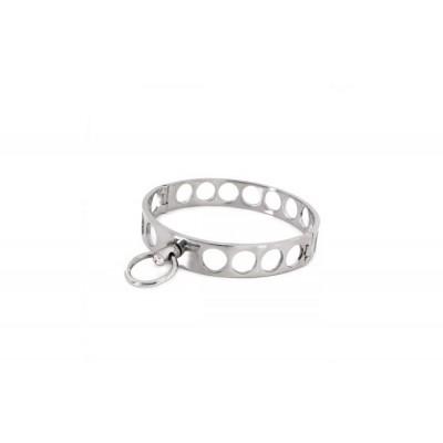Steel Collar Open Circles M 11.5 cm