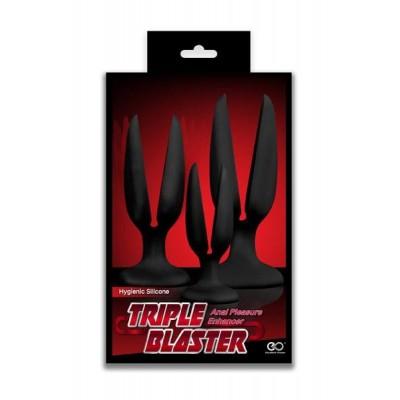 Triple Blaster Open Plugs