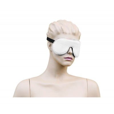 Eyemask Leather - White