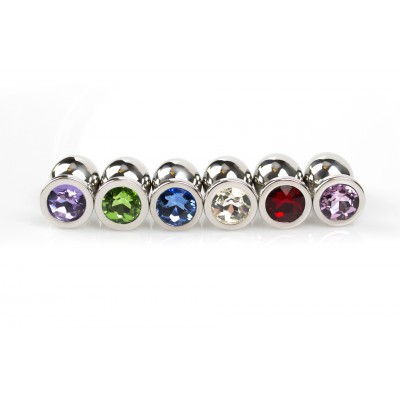 Jewel Buttplug Medium (Diverse Kleuren)